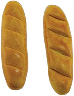 International Miniatures by Classics Dollhouse Miniature French Bread 2 Loafs