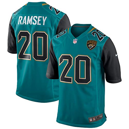 Nike Jalen Ramsey Jacksonville Jaguars NFL Boys Youth 8-20 Teal Alternate On-Field Jersey (Youth X-Large 18-20)