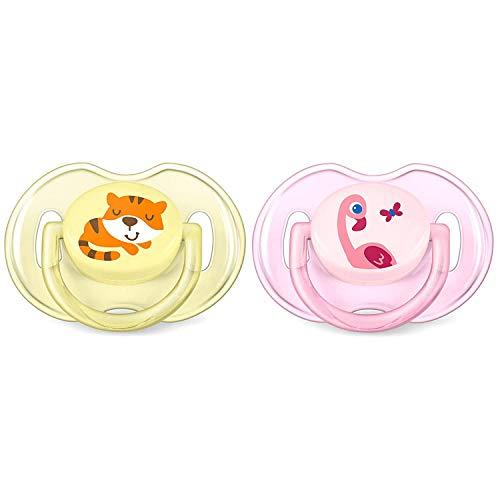 Philips Avent scf169/23Beruhigungssauger Classic kiefergerechte Silikon Mehrfarbig Schnuller für Kinder