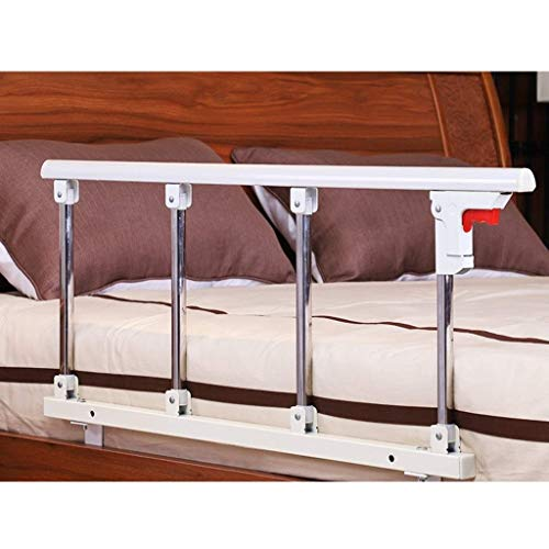JSONA Foldable Bed Rail Safety Side Guard Smart-Rail Bed Rail and Handle Assist to Provide Support When Getting Out of Bed (Color : A, Size : 95x40cm)
