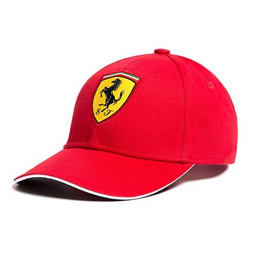Scuderia Ferrari 2018 - Berretto da baseball classico, per bambini, taglia unica, colore: Rosso