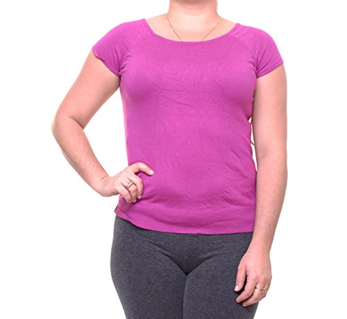 Lauren Ralph Lauren Nosoro Damen Strickpullover aus Seide, Pink, Größe XL