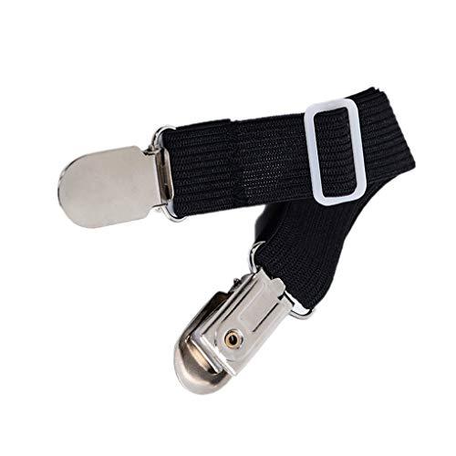 chenshaorme 8pcs / Set justierbaren elastischen Matratzenbezug Corner-Halter-Klipp-Bett-Blatt Fasteners Straps Greifer Straps Cord