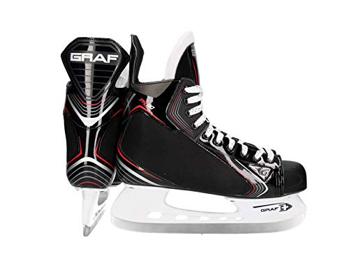 Graf PK110 Junior Hockey skates, taglia:34, larghezza:R = Regular