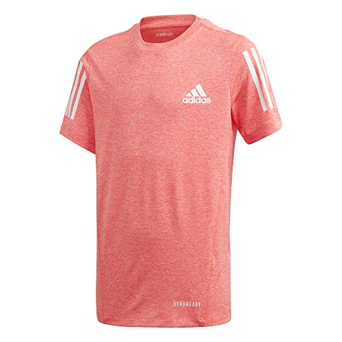 adidas B A.R. Tee Maillot Manches Courtes Mixte Enfant, Sigpnk, FR : S (Taille Fabricant : 5-6A)