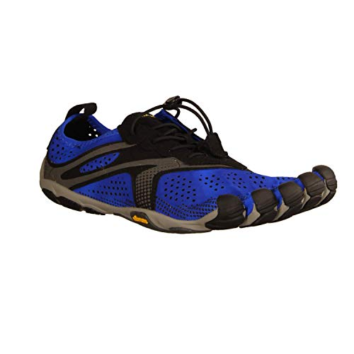 Vibram V-Run, Basket Homme, Blue/Black, 46 EU