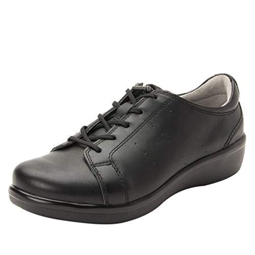 TRAQ BY ALEGRIA Cliq Womens Smart Walking Shoe Black Out 9 M US