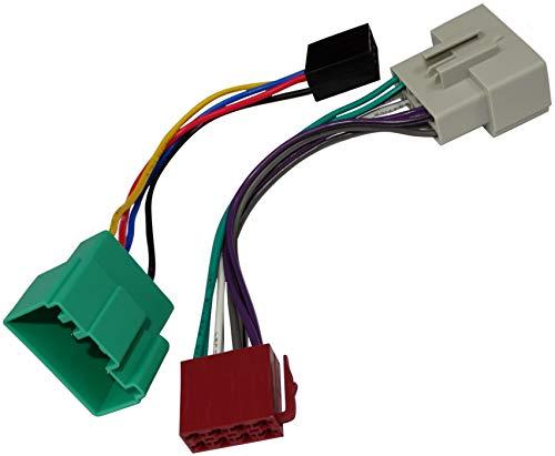 AERZETIX - Cable adaptador - Enchufe ISO - Para radio de coche - C2009