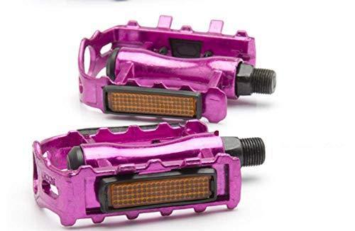 Xihaoer Pedales de bicicleta de 9/16 pulgadas de aleación de aluminio de...