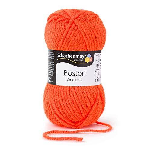 Schachenmayr Boston 9807412-00122 neon orange Handstrickgarn