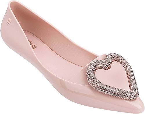 Melissa - Zapatos planos para mujer, diseño de corazón