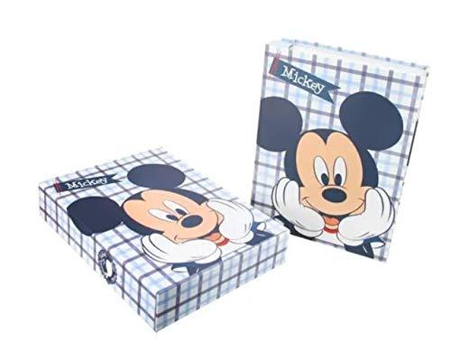 Álbum De Fotos Azul Mickey Mouse 120 Fotos