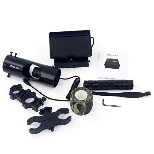 brightsen Digitale Nachtsichtfernrohr-Videokamera Für Zielfernrohre Optik/Jagdbereich HD 720P Video/Foto Mit 4,3-Zoll-HD-Display Und Infrarot-Lasertaschenlampe