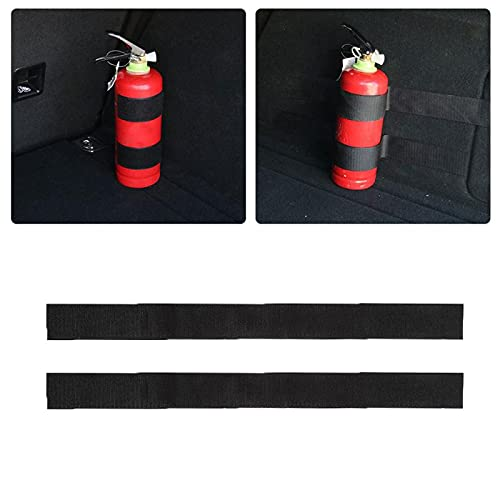 Strong Adhesion Car Trunk Fire Extinguisher Fixing Strap Car Tail Box Fire Extinguisher Fixing Belt Storage Strip-China,1 Set