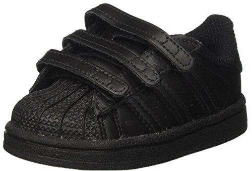 adidas Superstar CF I, Zapatillas de Gimnasia Unisex Niños, Negro (Core Black/Core Black/Core Black Core Black/Core Black/Core Black), 23.5 EU