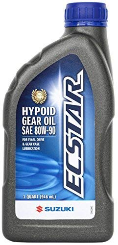 Suzuki ECSTAR Hypoid Gear Oil 1 US Quart 990A0-01E81-01Q