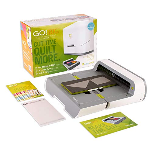 AccuQuilt GO! Big Electric Fabric Cutter Starter Set with GO! Big...