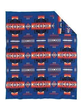Pendleton Woolen Mills Falcon Cove Jacquard Blanket 72574 9820 TWIN