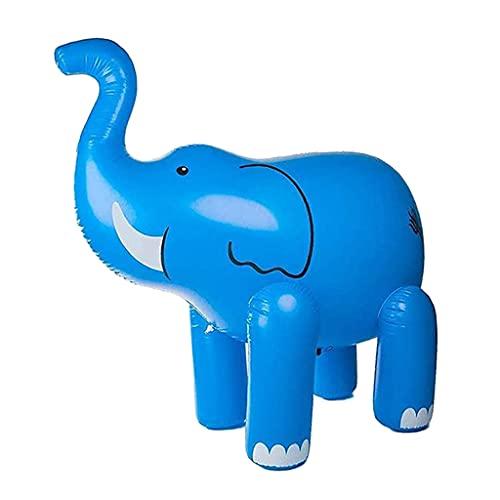 Non-brand Elefante Inflable rociador de Verano Patio de Agua al Aire Libre Juguetes para niños pequeños niños niñas Verano de refrigeración Juguetes