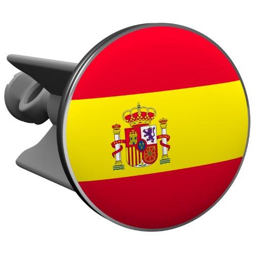 Plopp Waschbeckenstöpsel Spanien, Stöpsel, Excenter Stopfen, für Waschbecken, Waschtisch, Abfluss