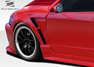 Brightt Duraflex ED-XLI-487 CBR500 Wide Body Front Fenders - 2 Piece Body Kit - Compatible With Mustang 1999-2004