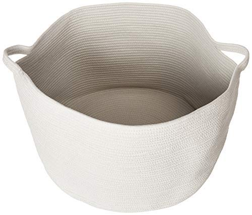 Zozha XXX Large Woven Max 51% OFF Cotton Round Rope with Basket Hand Super beauty product restock quality top! Storage