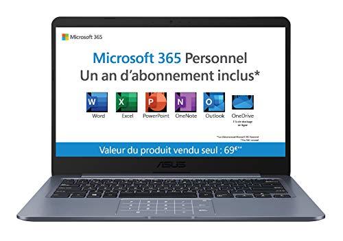 bon comparatif Ordinateur portable ASUS Vivobook E406MA-BV280TS 14 pouces (Celeron N4000, 4 Go de RAM, 64 Go eMMC, Windows 10… un avis de 2021