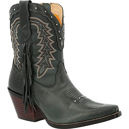 Crush by Durango Women's Vintage Teal Bootie Western Boot Size 8.5(M)