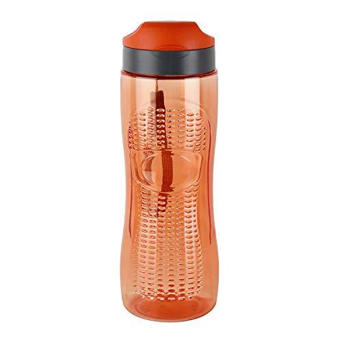 Cello Tritex Active Water Bottle, 800ml, Orange, Safe Plastic