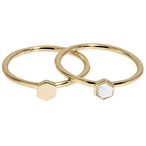 CLUSE Damen-Ringe Vergoldet mit \'- Ringgröße 54 CLJ41002-54