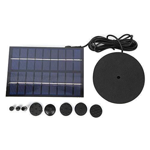 ASHATA Bomba de Agua Solar 9V 2W Mini Fuente de energía Solar Bomba de Agua de Alta sensibilidad con energía Solar para circulación de Agua