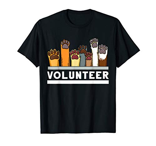 Animal Shelter Volunteer Tshirt For Dog Rescue Supporter