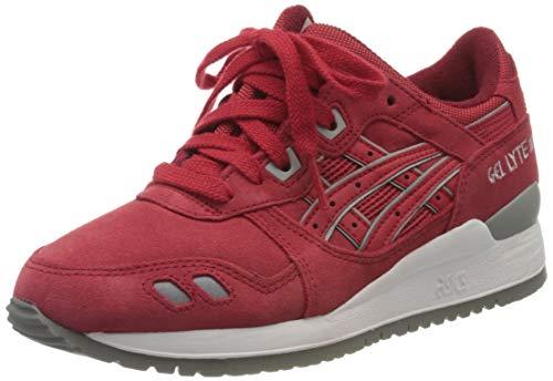 ASICS Herren Gel Lyte III H5U3L-2323 Sneaker, Rot (Red/Red 2323), 35 EU