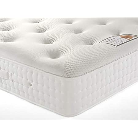 MADE IN UK NEW PURE Supreme Orthopaedic Backcare Sprung Mattress 4ft6//5ft//6ft