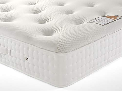 Sleepeezee Backcare Supreme 2000 Pocket Spring Firm Ortho Natural Mattress 3FT S