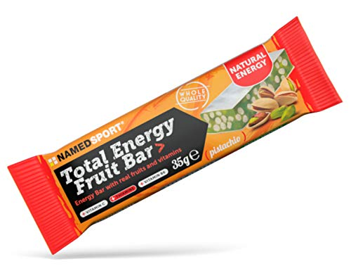 Named Total Energy Fruit Bar Pistacchio box 25 barrette da...