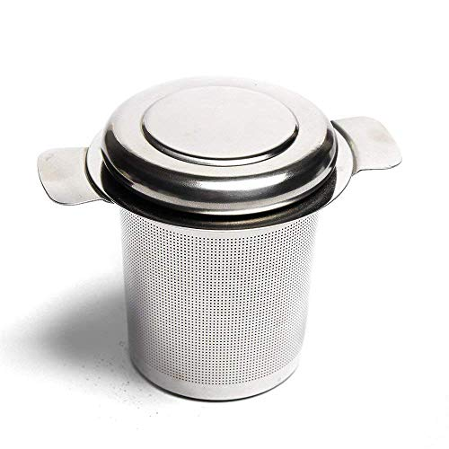 VAHDAM, Klassische Teesieb Teefilter | Teesieb für Losen Tee | FDA-geprüfter loser 18/8-Tee-Steeper aus Edelstahl | Beste teeei für tasse | Teefilter für losen tee
