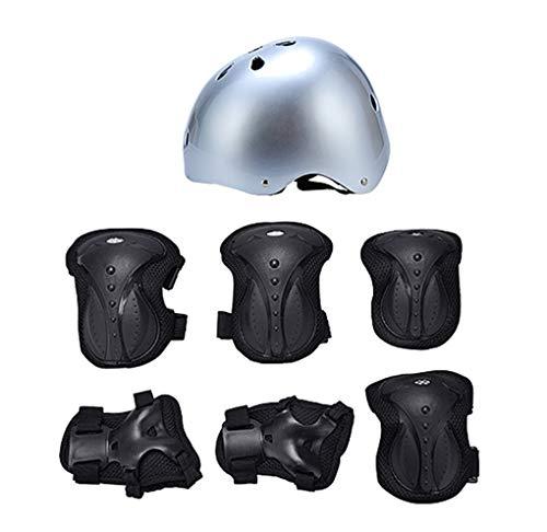Yx-outdoor Juego de Equipo de protección para Adultos, para Motocicletas eléctricas, Patines,...