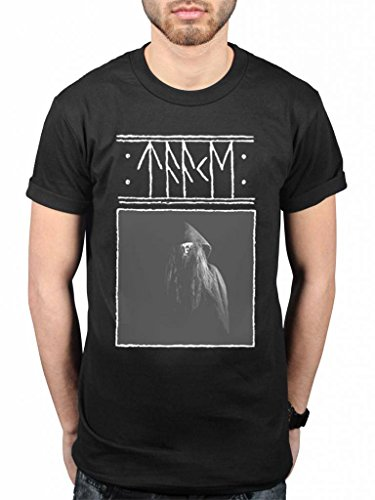 Official Taake Stridens Hus T-Shirt Black Metal Band Rock Music Album Thule