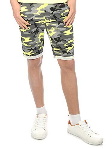 BEZLIT Jungen Kinder Shorts Kurze-Hose Bermuda Capri Sommer Jungs Strech 30046 Camouflage 128/134