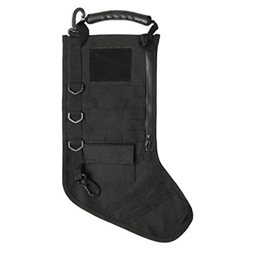 RUCKUP RUXMTSB Tactical Christmas Stocking, Black, Full