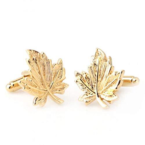 Manschettenknöpfe mit goldenen Ärmeln, Herren- und Damenhemden, Knopfnägel