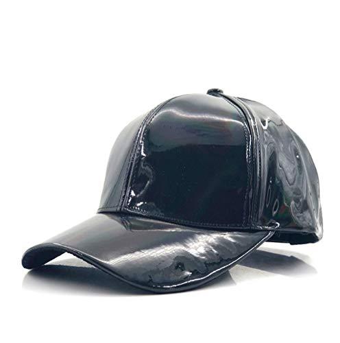 Blauer Strand Mode Hip-Hop-Hut Für Regenbogen Farbwechsel Hut Cap Zurück In Die Zukunft Prop Bigbang G-Dragon Baseball Cap (Farbe : Dark Grey, Größe : 56-60CM)