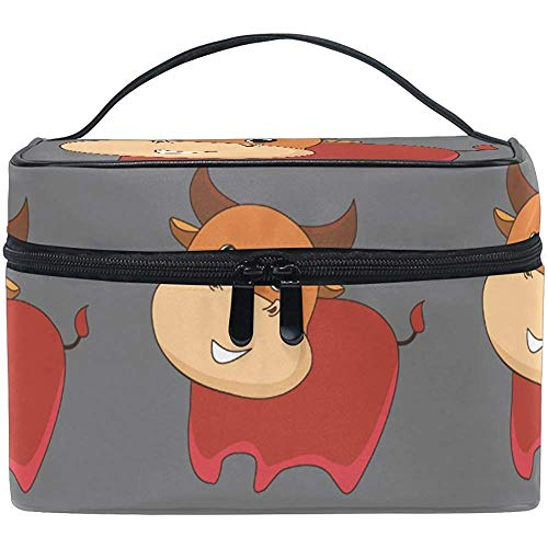 Trousse de Maquillage Night Sheep Moon Travel Cosmetic Bags Organizer Train Case Toiletry Make Up Pouch