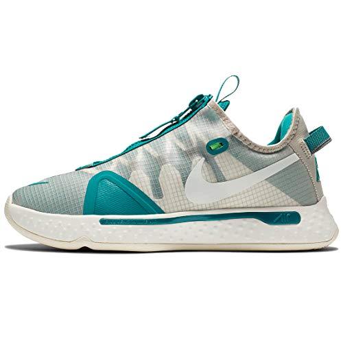 Nike PG 4 - Escuela de grado para niños, gris (Cuerda/Sail-Cool Grey-Natural), 45.5 EU