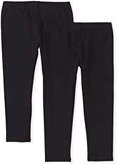 The Children's Place Girls' 2 Pack Basic Leggings
