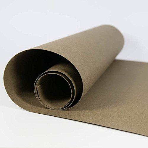 SnapPap dunkelbraun - Papier in Lederoptik Kreativpapier Waschbares Papier