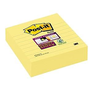 Post-It FT510093667 – Notas adhesivas, 102 x 152 mm, 1 unidad, color Amarillo