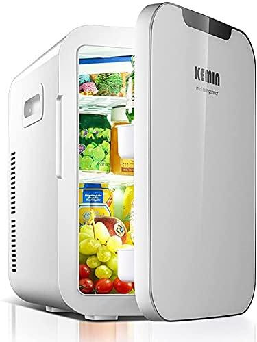 TANKKWEQ Portátil Mini Frigorífico Ahorro de energía - 20l Compact Tor Contiene 27 x 330ml latas | (Color : White)