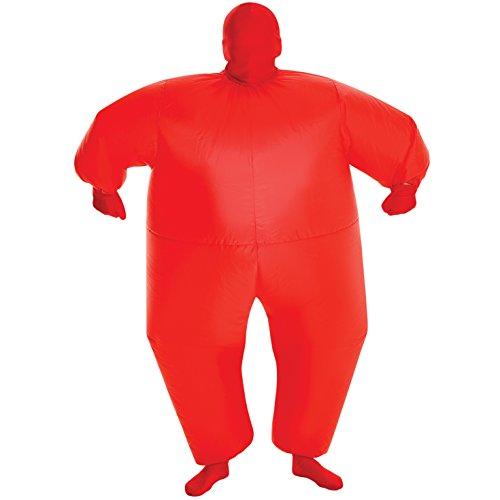 Morphsuits rosso Megamorph gonfiabile Kids costume–Taglia unica